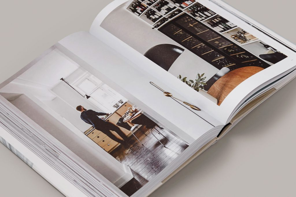 Spread of Kinfolk Home - interiors for slow living.