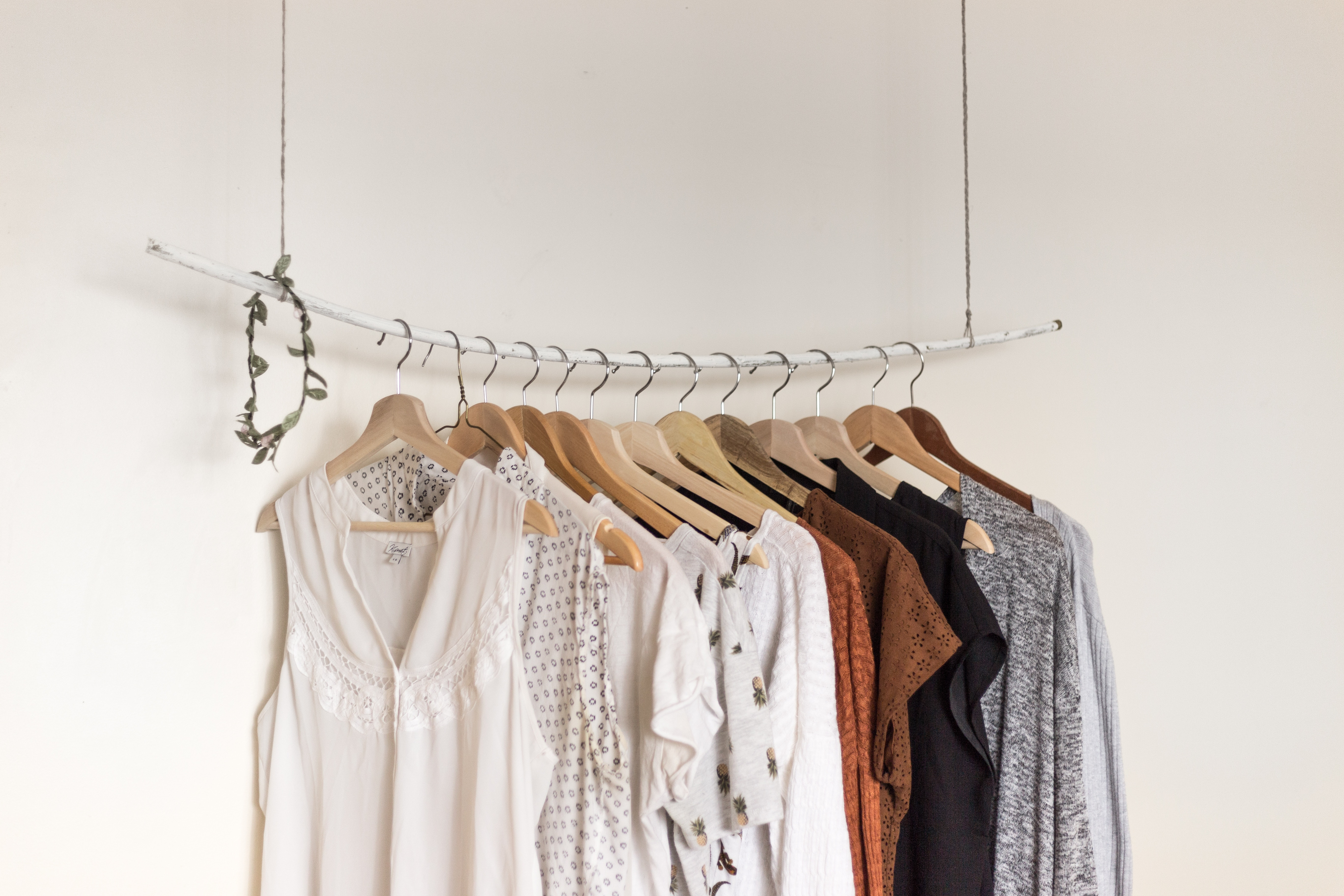 Organised clothes